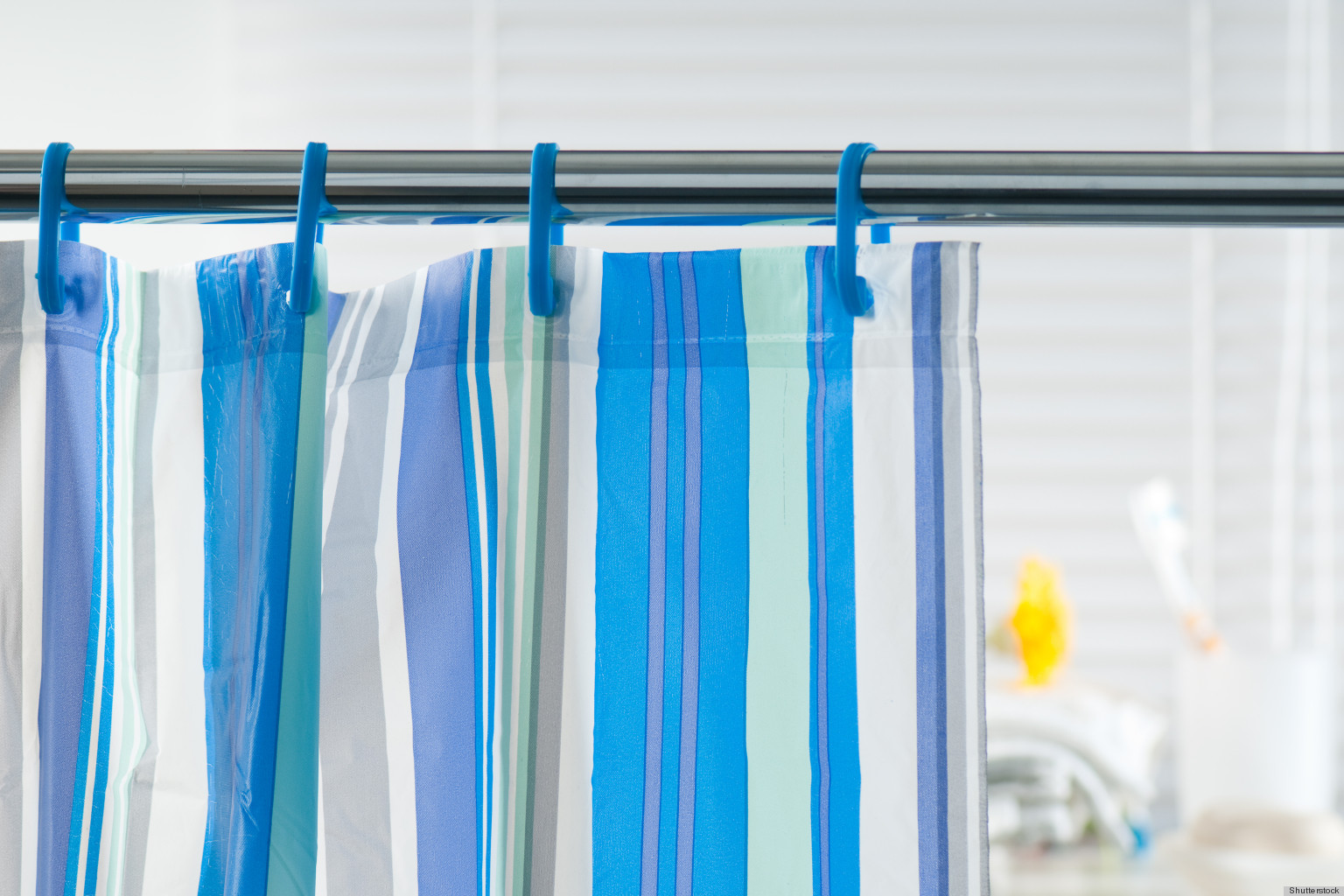 Shower Curtains: Prevent Mildew From Growing On Shower Curtains With...Salt