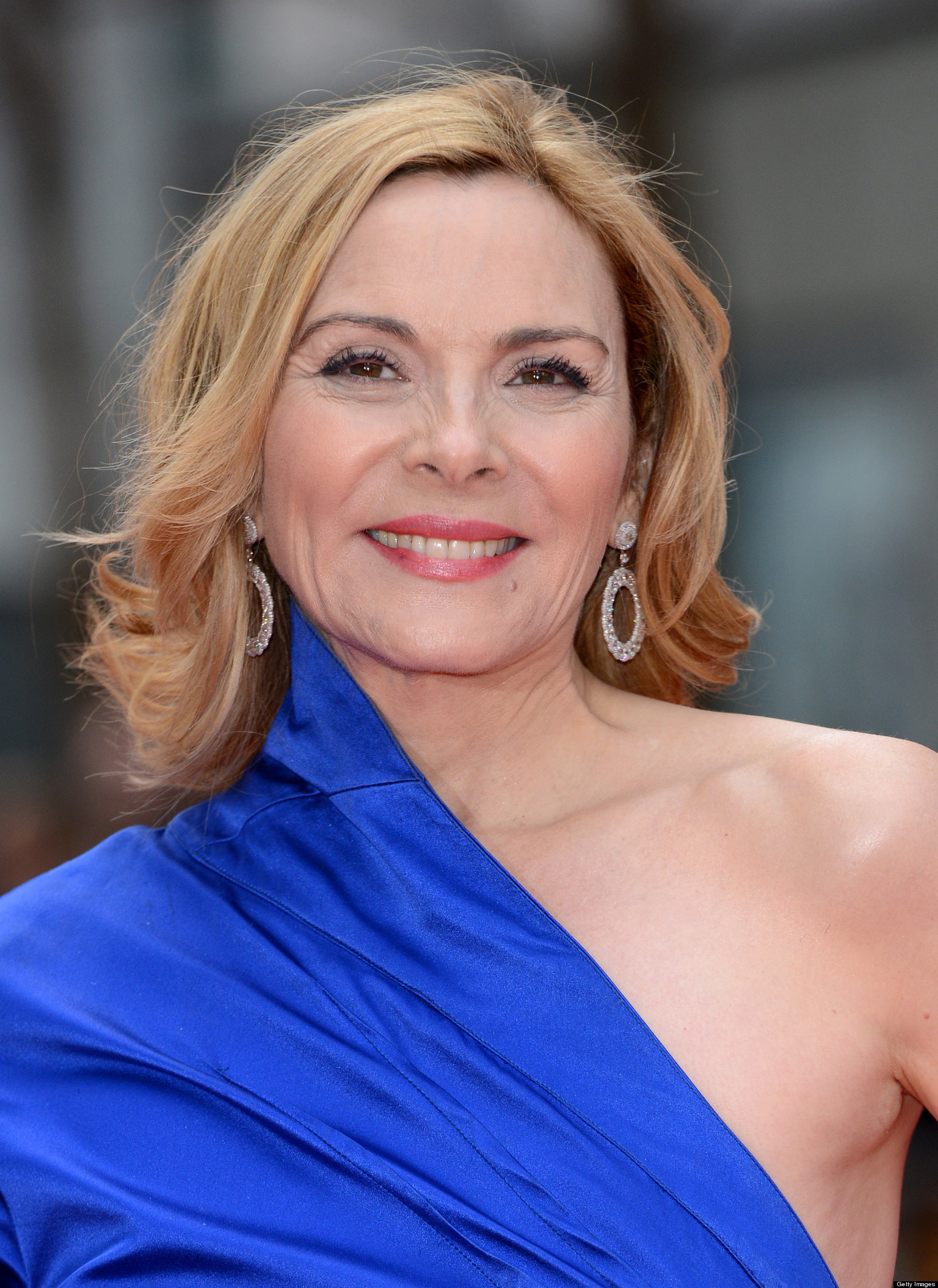 Kim Cattrall Makes a Good Point - You're Not 'Less' If You ... Kim Cattrall