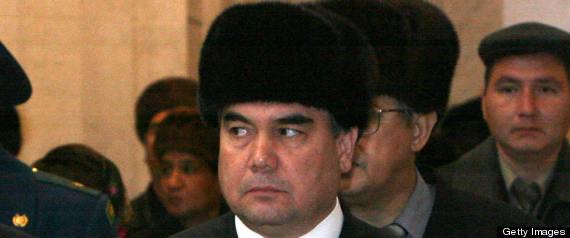 KURBANGULY BERDYMUKHAMEDOV TURKMENISTAN