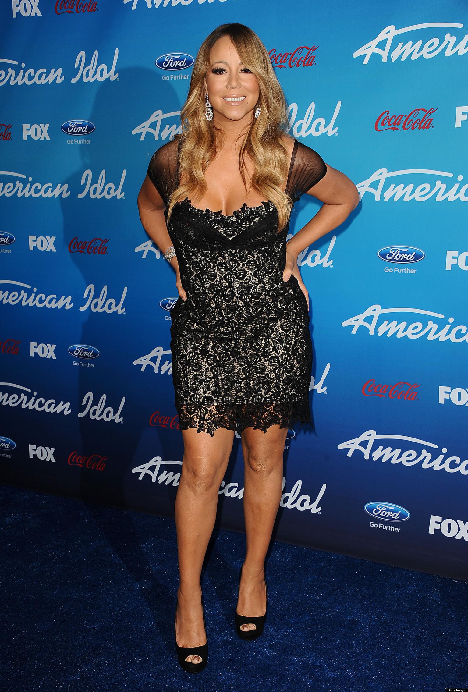 Mariah Carey See Through Clothes