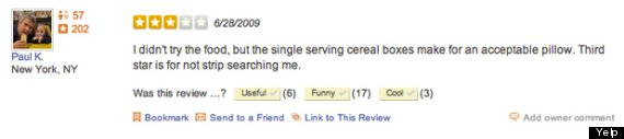 yelp prison review