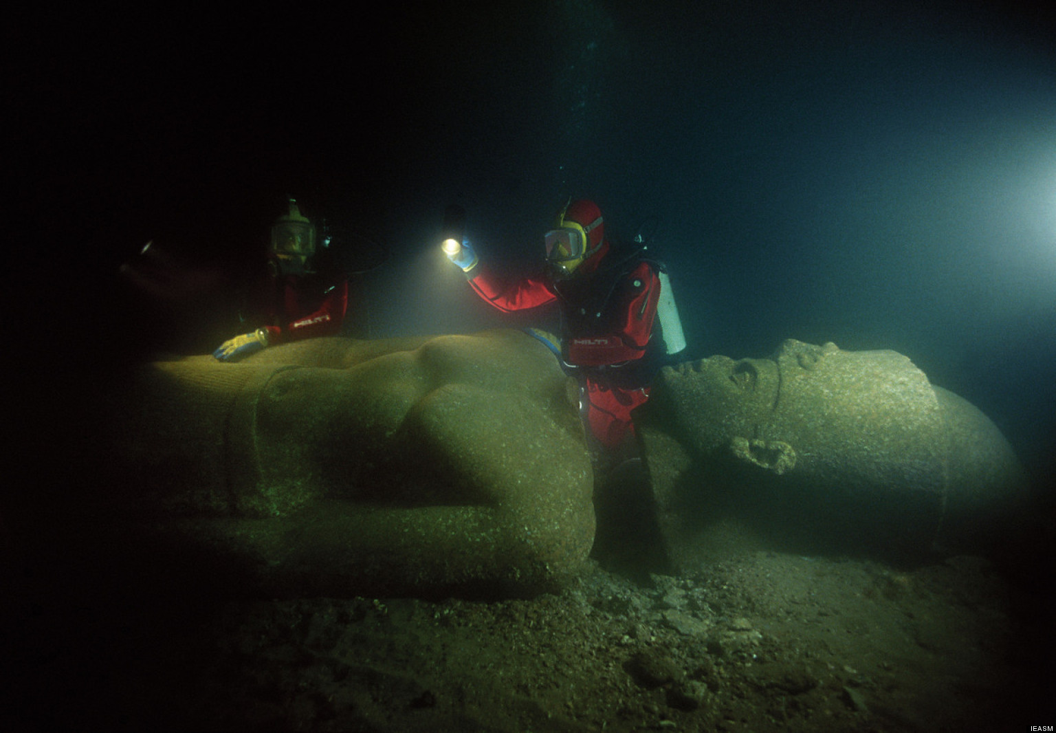 LOOK: Lost Sunken City Revealed