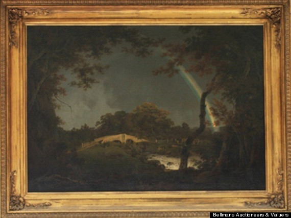 Lost Joseph Wright Painting Sells For 250000 At Auction Huffpost