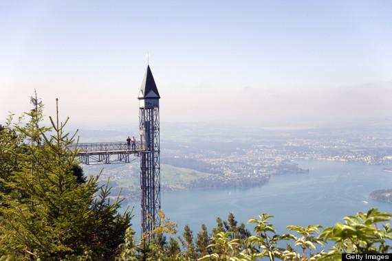 tallest outdoor elevetor