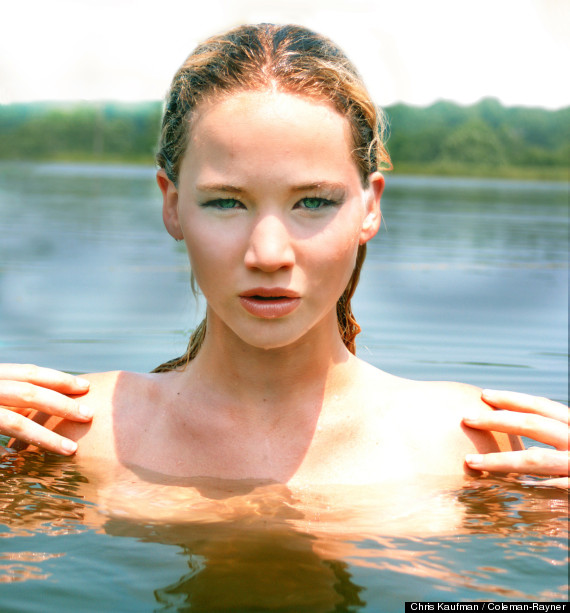 jennifer lawrence modeling photos