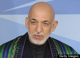 Karzai Confirms U.S. Gives Funds To Afghan National Security Team