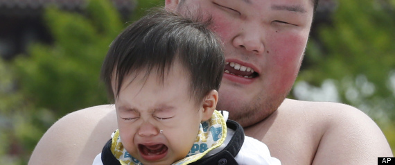 Did you know that Japan has a crying baby contest? Well, now you do (PHOTOS)