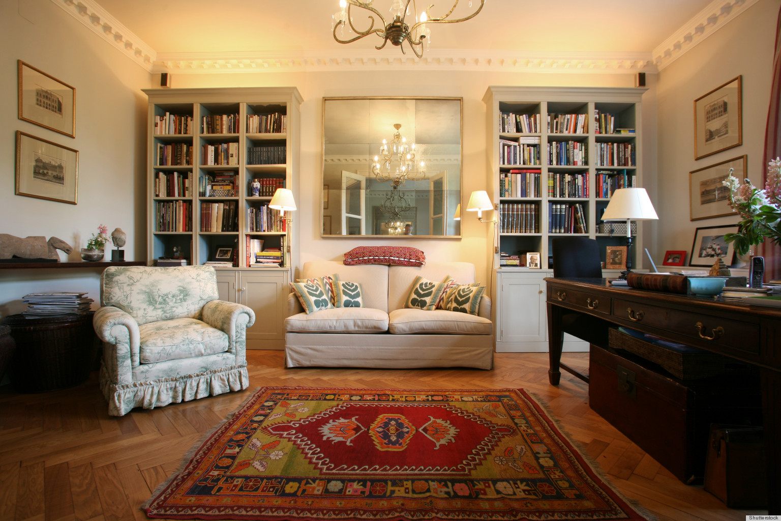 How decorating with books personalizes a home huffpost Home interior book