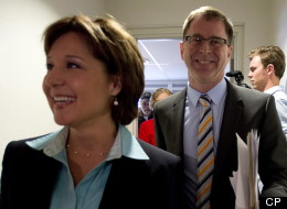 Christy Clark Adrian Dix