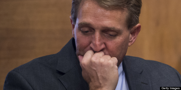 LIBERAL JEFF FLAKE LOSING TO BOTH PRIMARY OPPONENTS