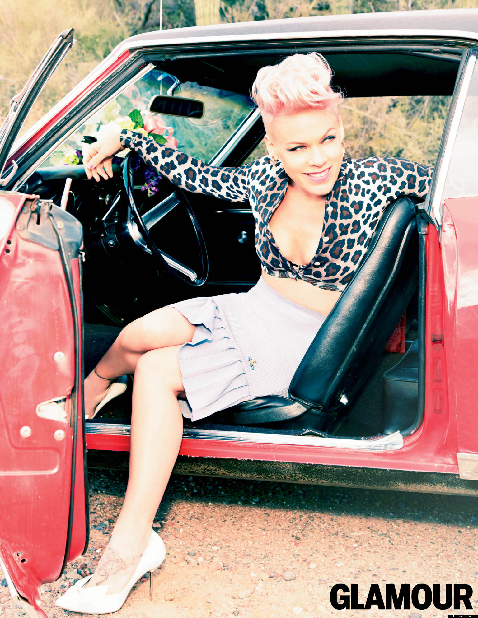 Which Boy Bander Dated Pink Back In The Day?