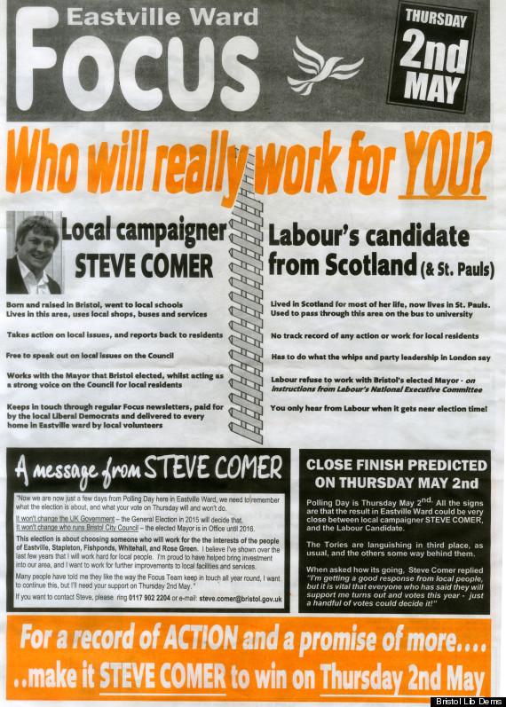 scottish leaflet
