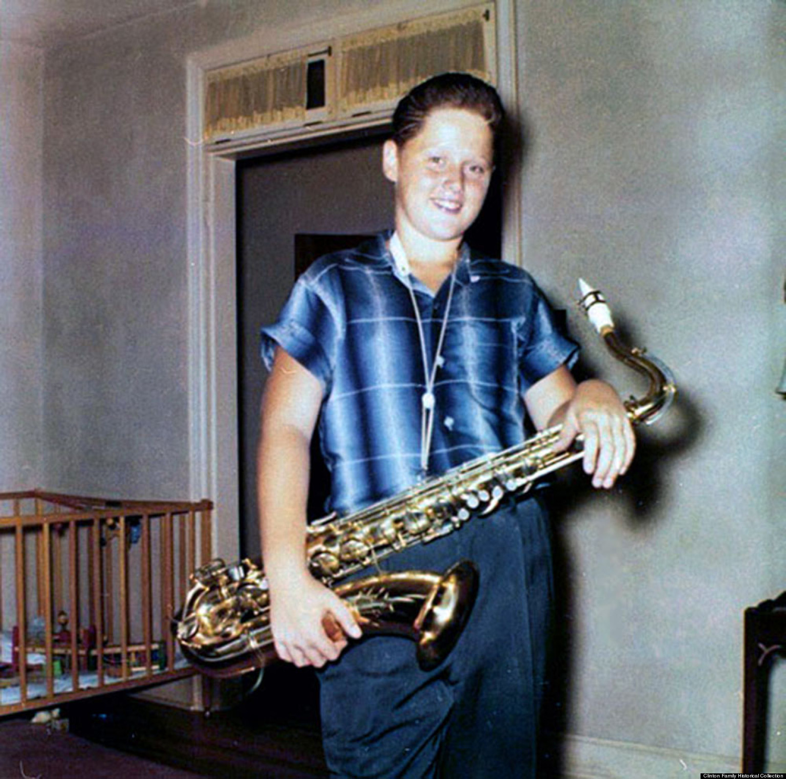 teenage sax