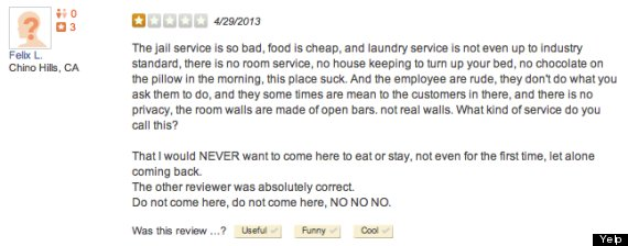 dc jail yelp review