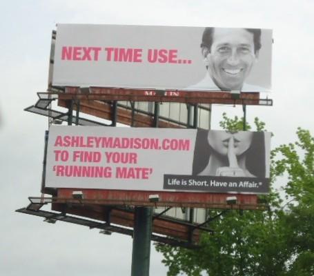 story ashley madison mark sanford billboard