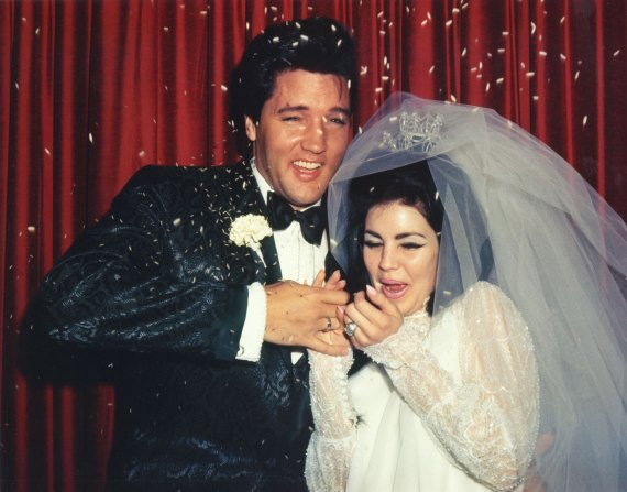 Priscilla Presley couple