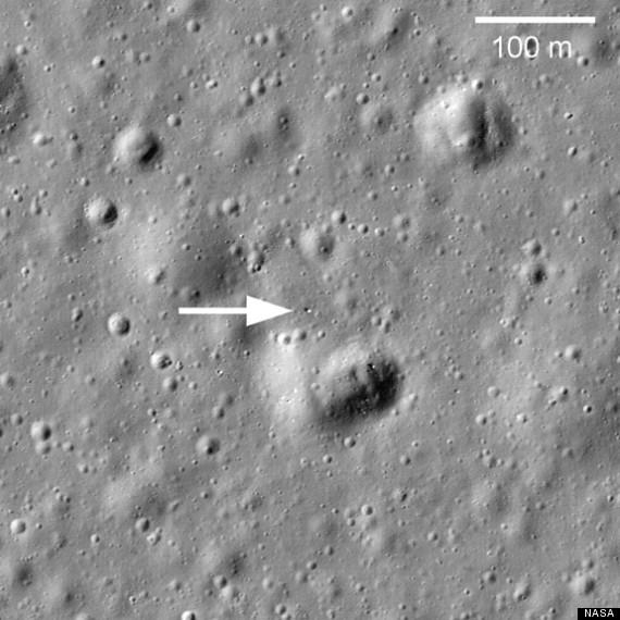 moon laser
