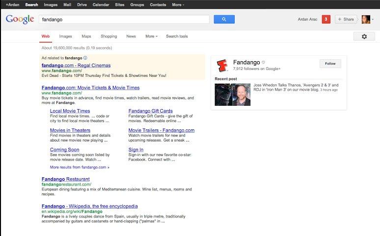 google search google plus
