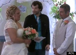 WATCH: Couple Holds 'Fairytale' Wedding At White Castle