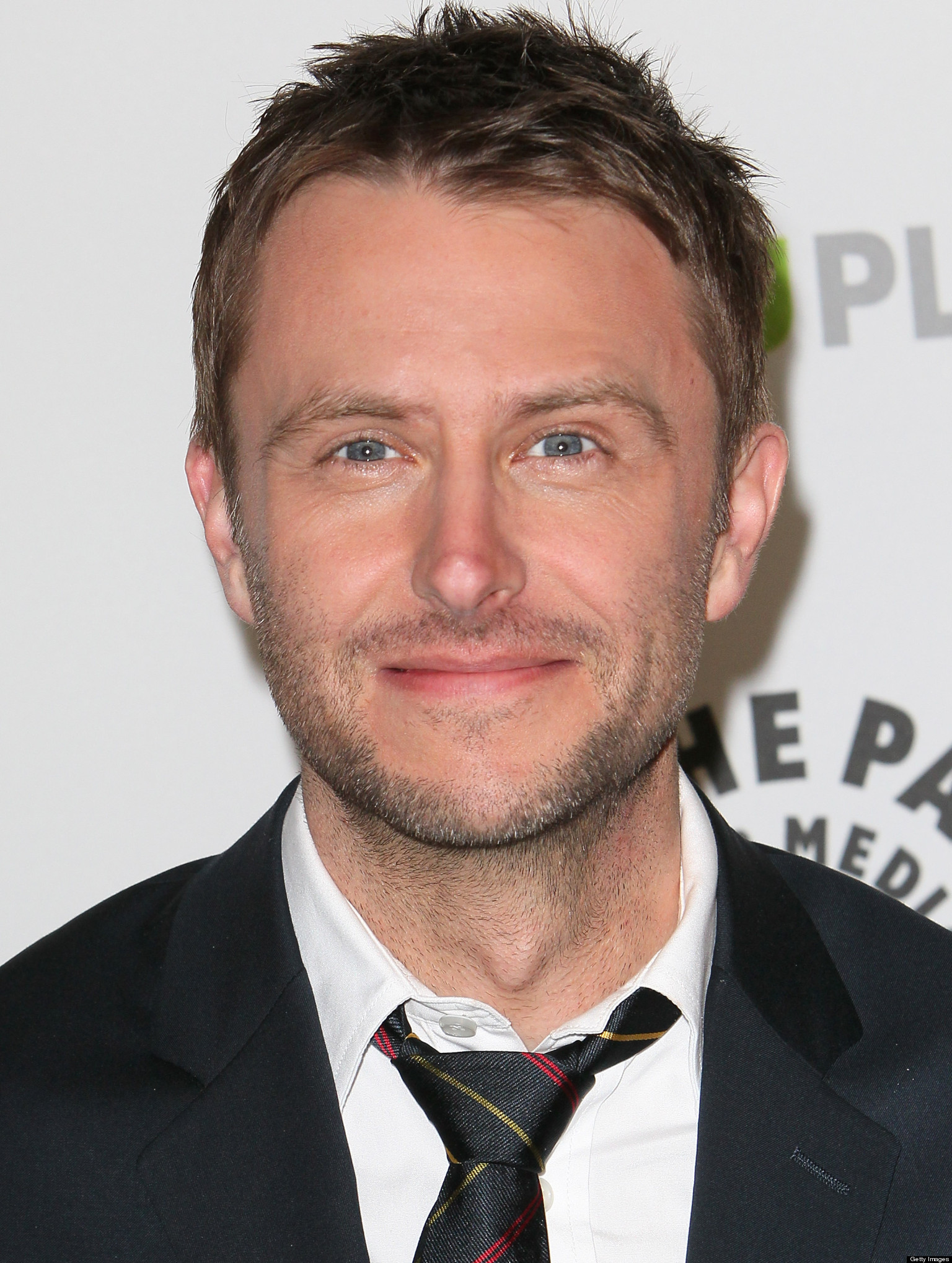The 45-year old son of father Billy Hardwick and mother Sharon Hills, 178 cm tall Chris Hardwick in 2017 photo