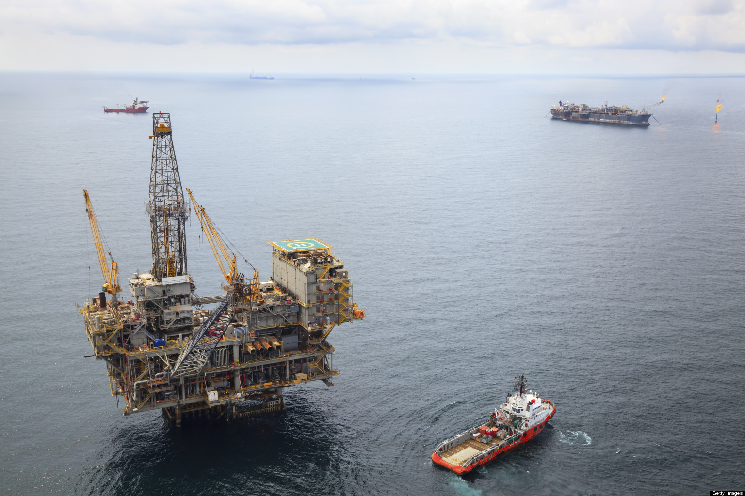 Offshore Marine Photos : Offshore worker fatality rates seven times higher than u s