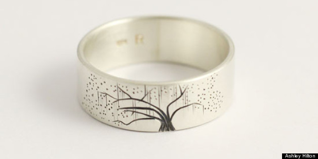 wedding trailblazers new zealand jewelry company designs personalized wedding bands photos - Nature Wedding Rings