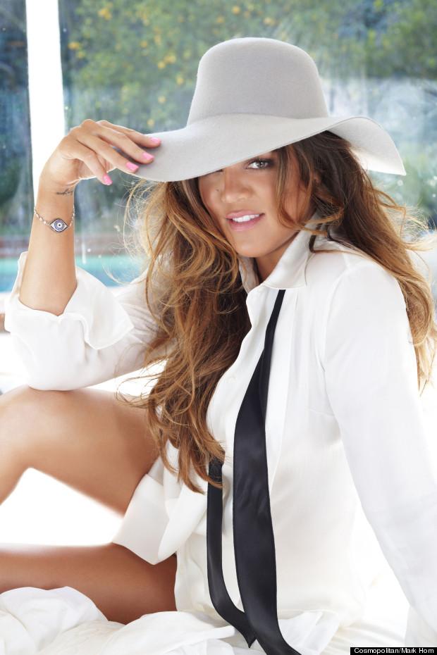 khloe kardashian cosmopolitan magazine