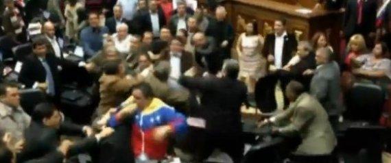 VENEZUELA CONGRESS FIGHT