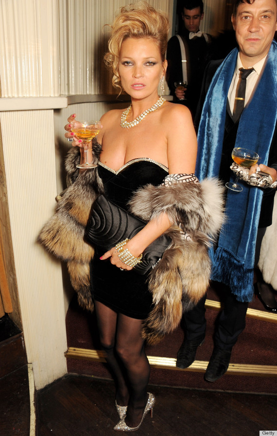 kate moss party