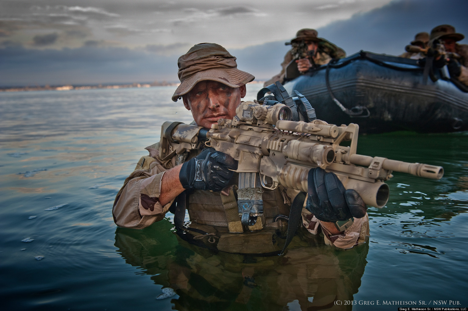 Serious case of stolen valor Guy claiming to be a Seal