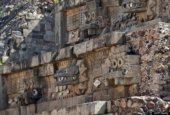 feathered serpent temple