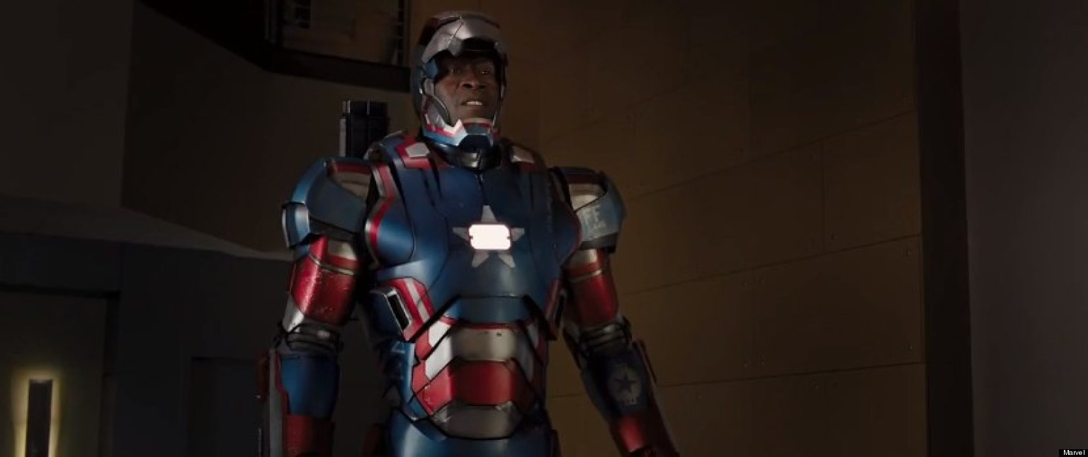 don cheadle iron man 3 star the iron man suit is a