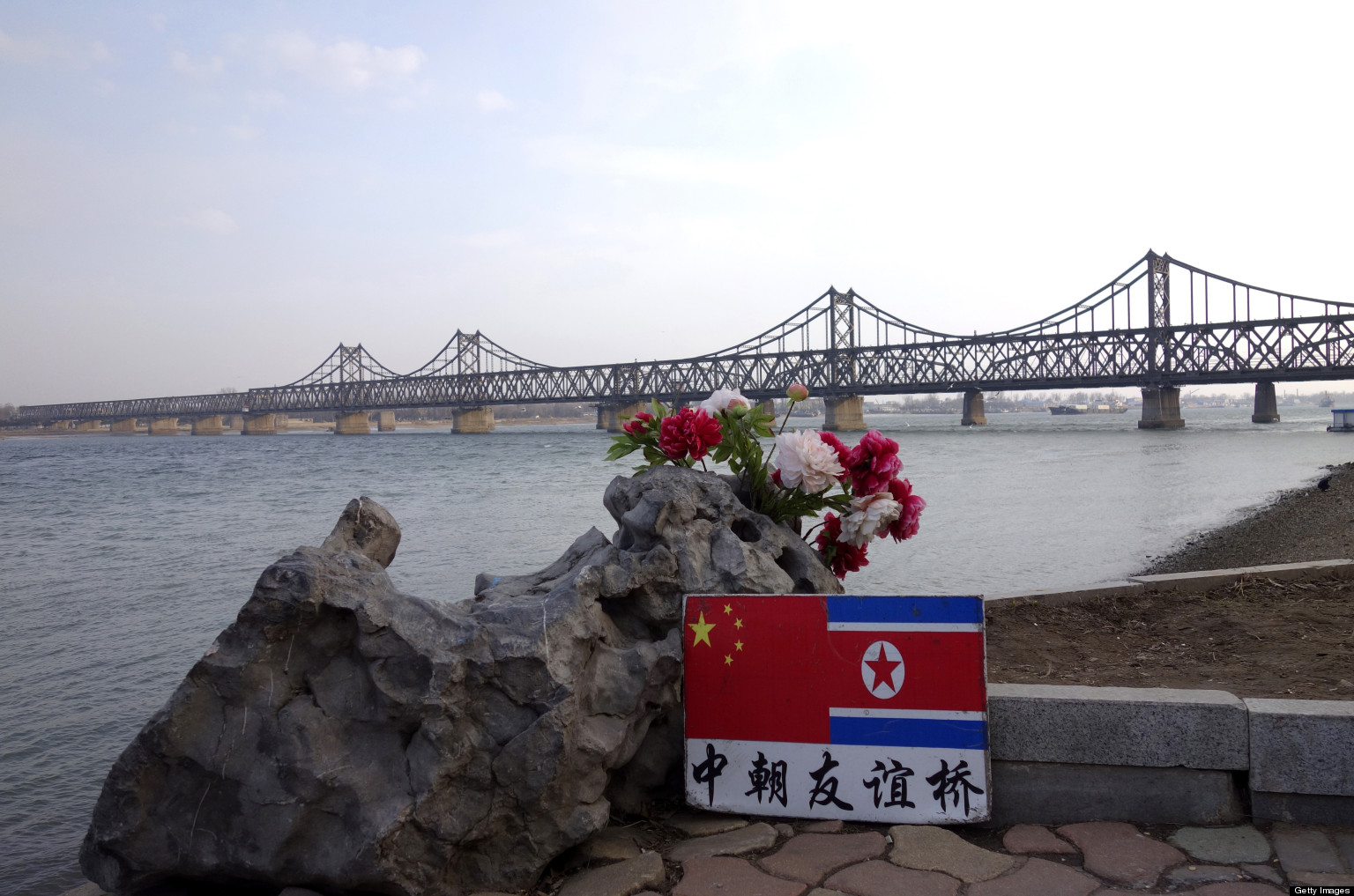 In Border City, China Bonded To NKorea By Common American Enemy