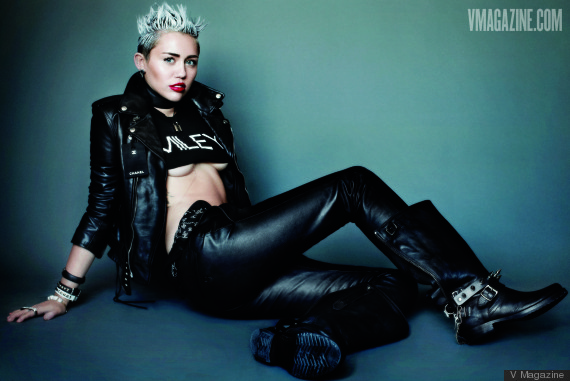 miley cyrus v cover