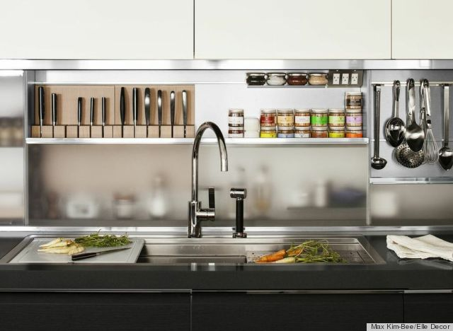 Inside Chef Daniel Boulud 39 S Stunning Kitchen Featured In The May Issue Of Elle Decor Photos