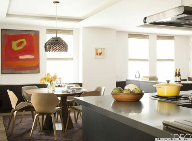 Inside chef daniel boulud 39 s stunning kitchen featured in the may issue of elle decor photos - Elle decor kitchens ...