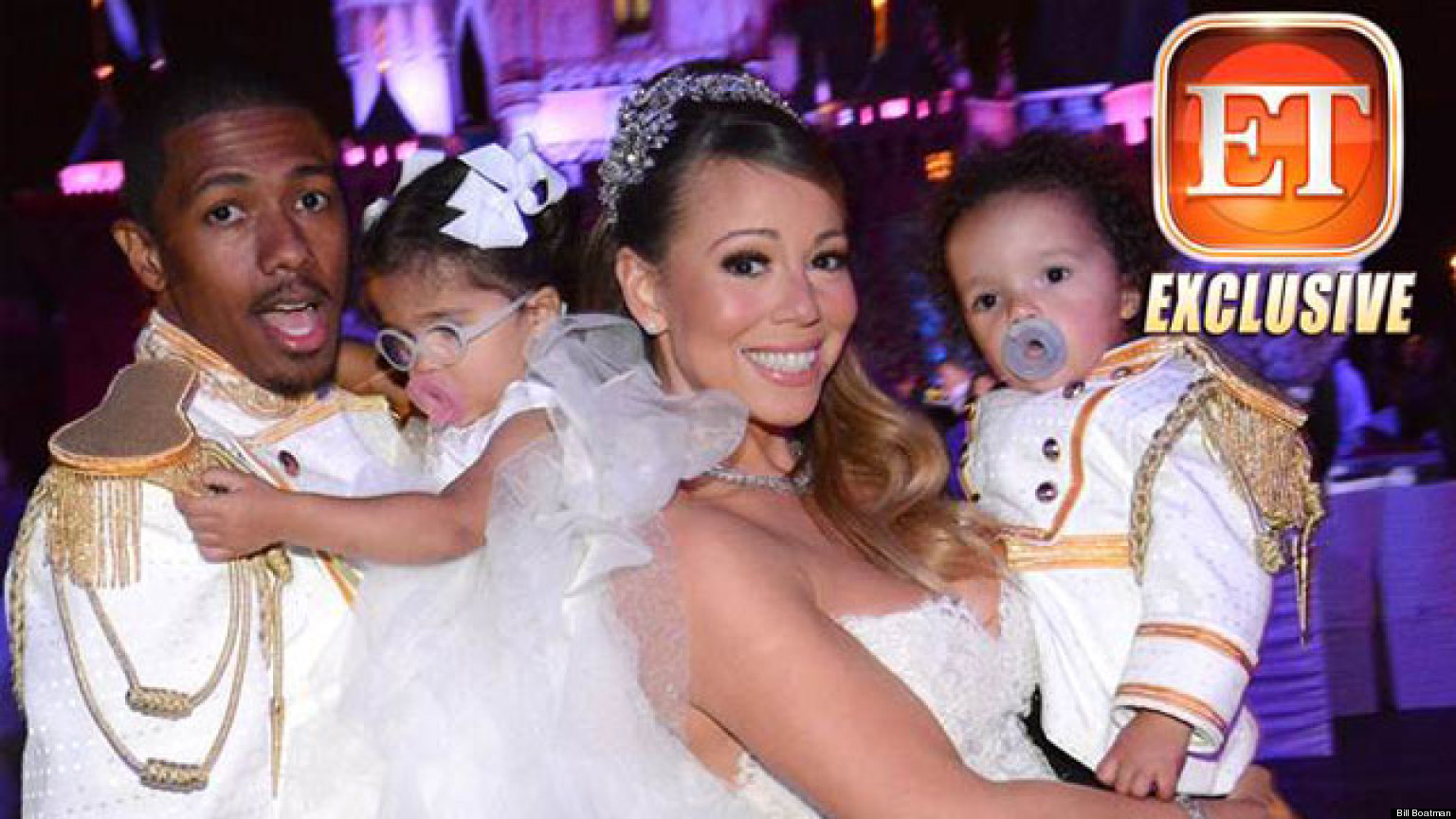 mariah carey nick cannon renew wedding vows at disneyland