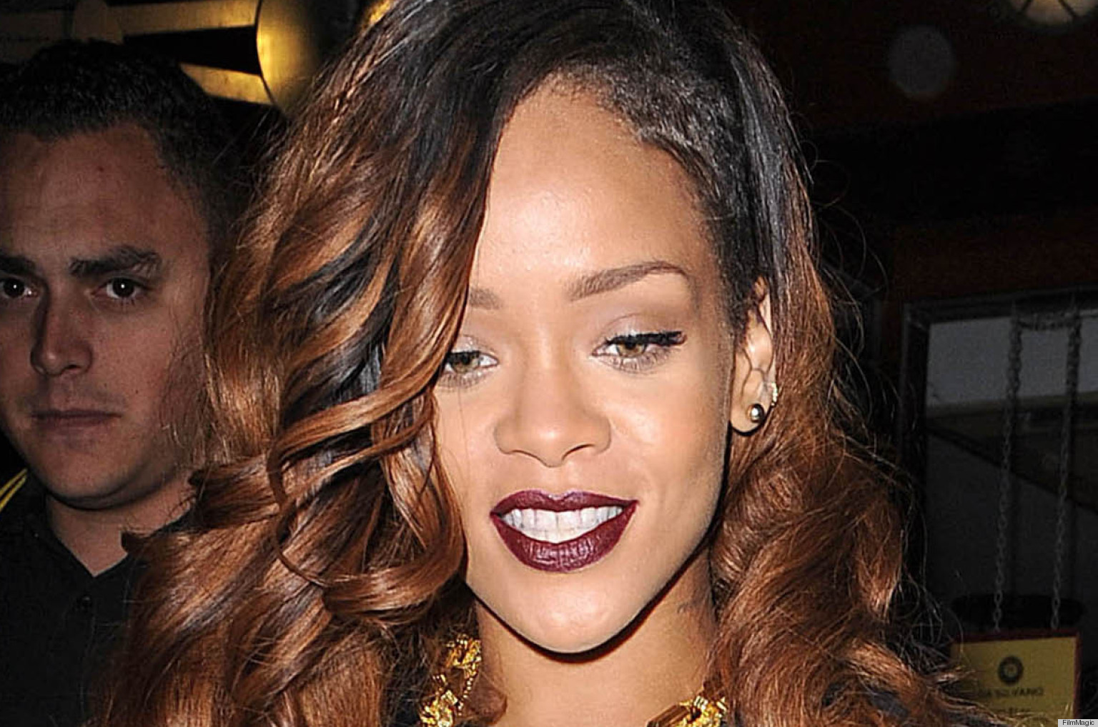 PHOTOS: Rihanna Repeats Anne Hathaway's Mistake