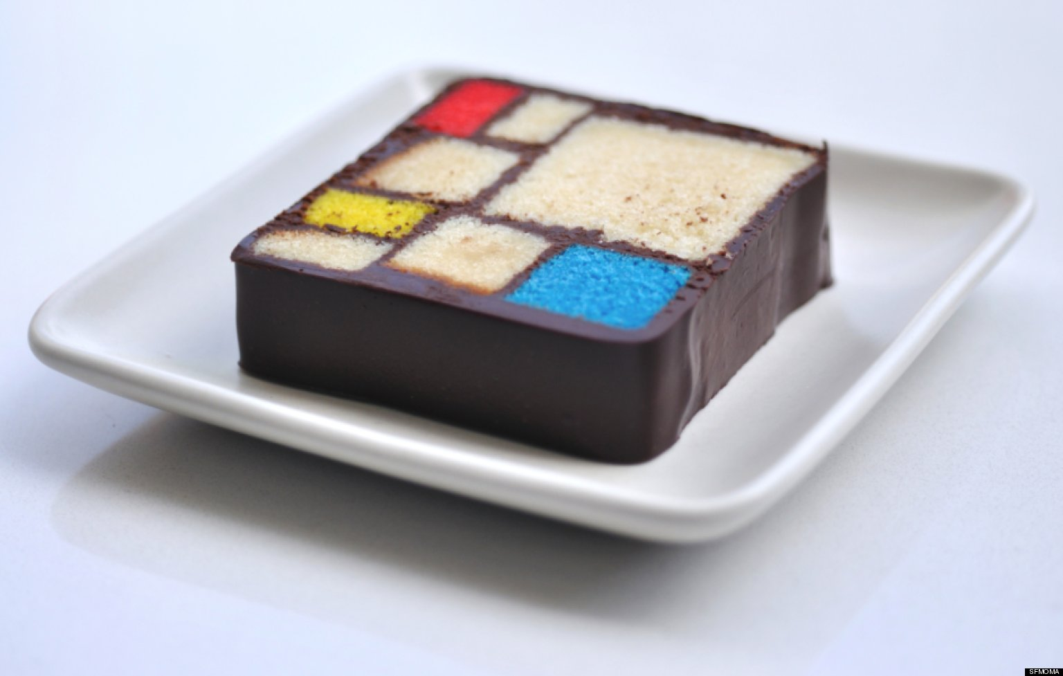 Cake Modern Art : SFMOMA Art Desserts: Five Treats Inspired By Famous ...