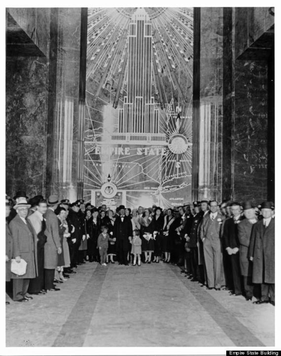 Image result for dedication of the empire state building