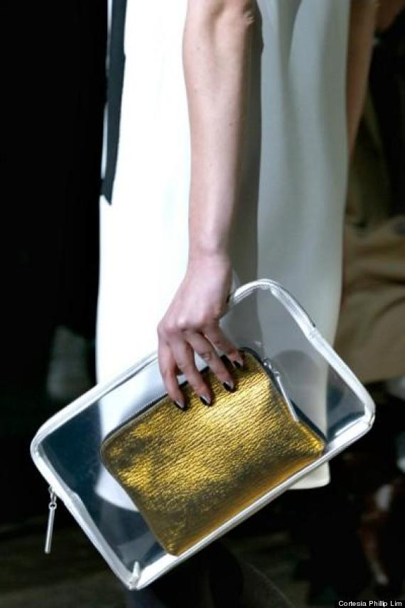phillip lim cartera transparente