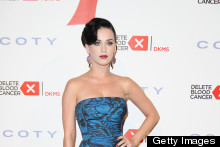 Katy Perry Is Feelin' Blue (Again) At Charity Bash in NY