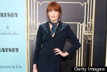 Florence Welch Wows At Great Gatsby Premiere In New York
