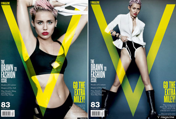Miley Getting a Wedgie http://www.huffingtonpost.co.uk/2013/05/02/miley-cyrus-v-magazine-pictures-liam-hemsworth_n_3199030.html