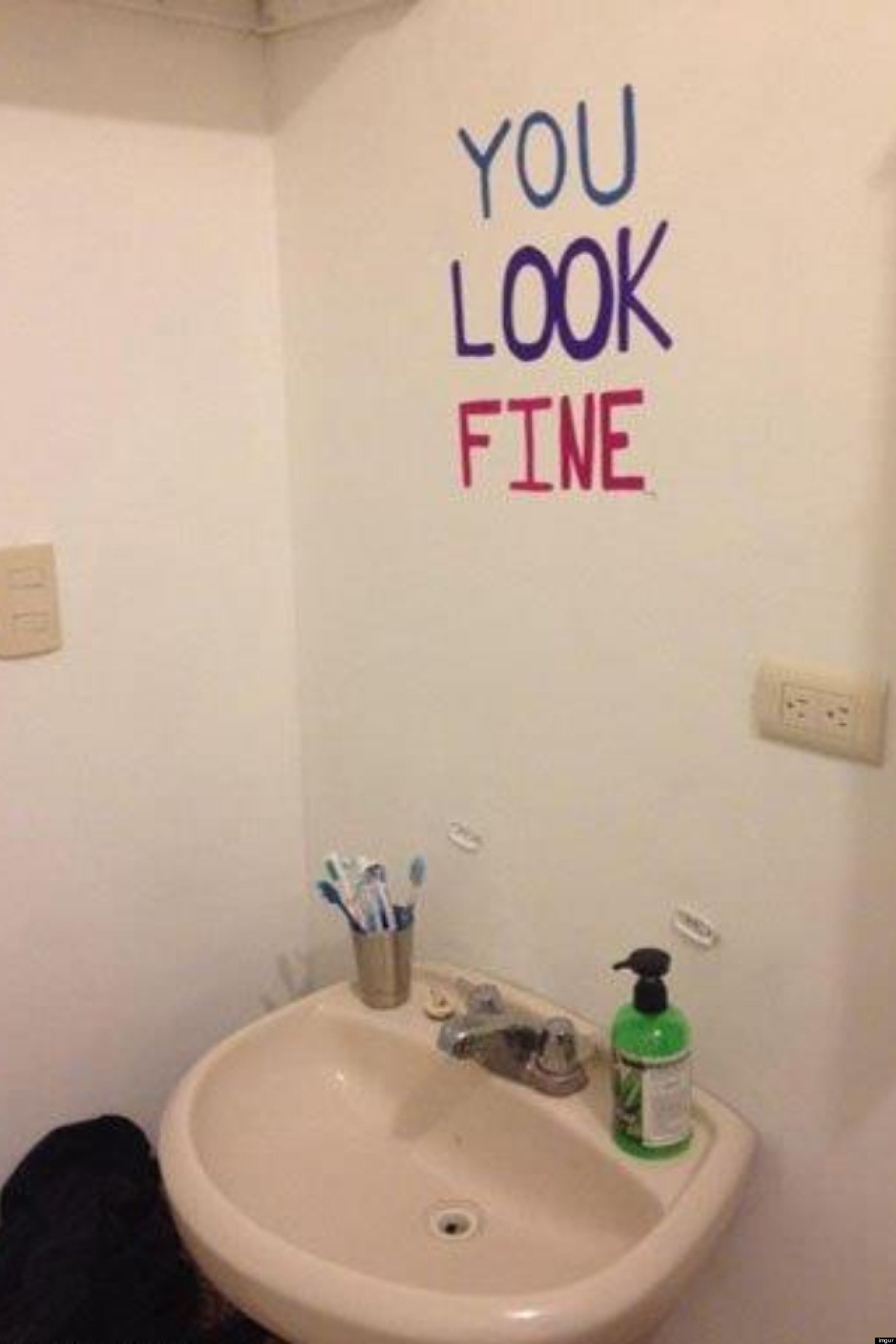fine mirror wish saw looking woman themselves bathroom quotes looks mirrors ladies edgy would too damn looked doing really cool