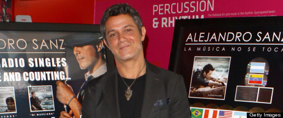 Alejandro Sanz Holiday