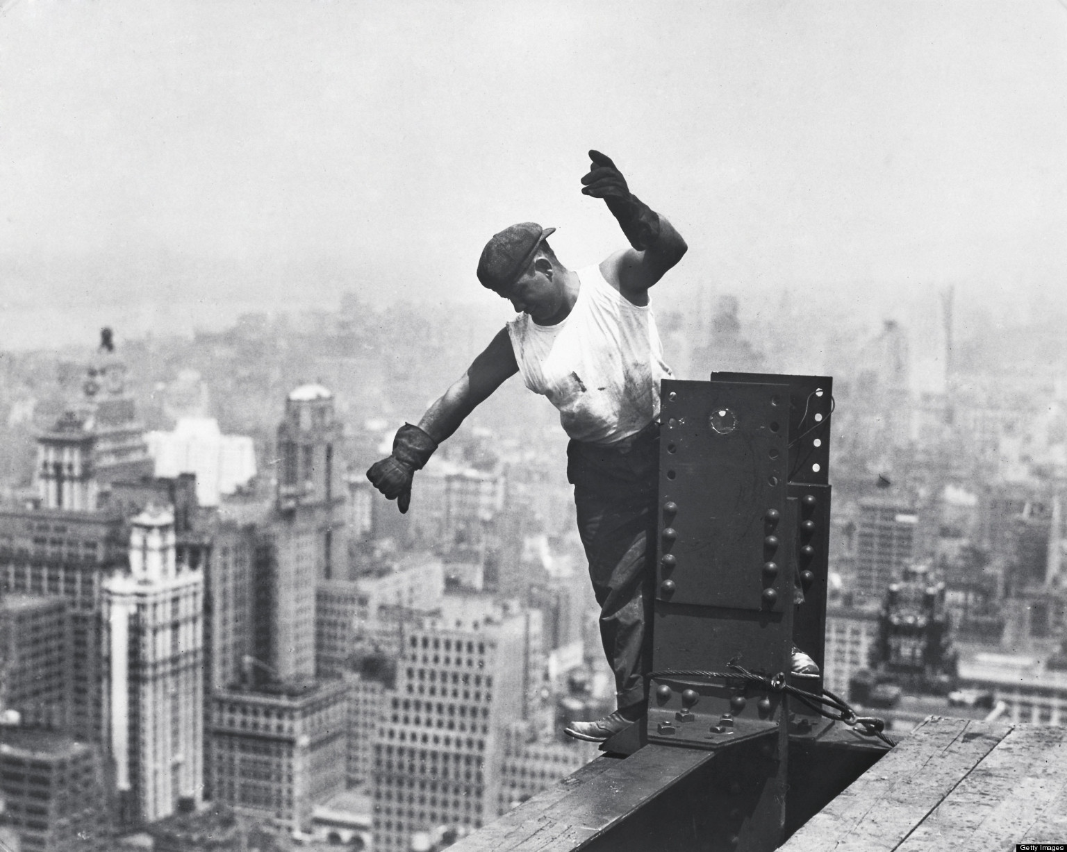 Empire state building dedicated on this day 82 years ago for Builders first