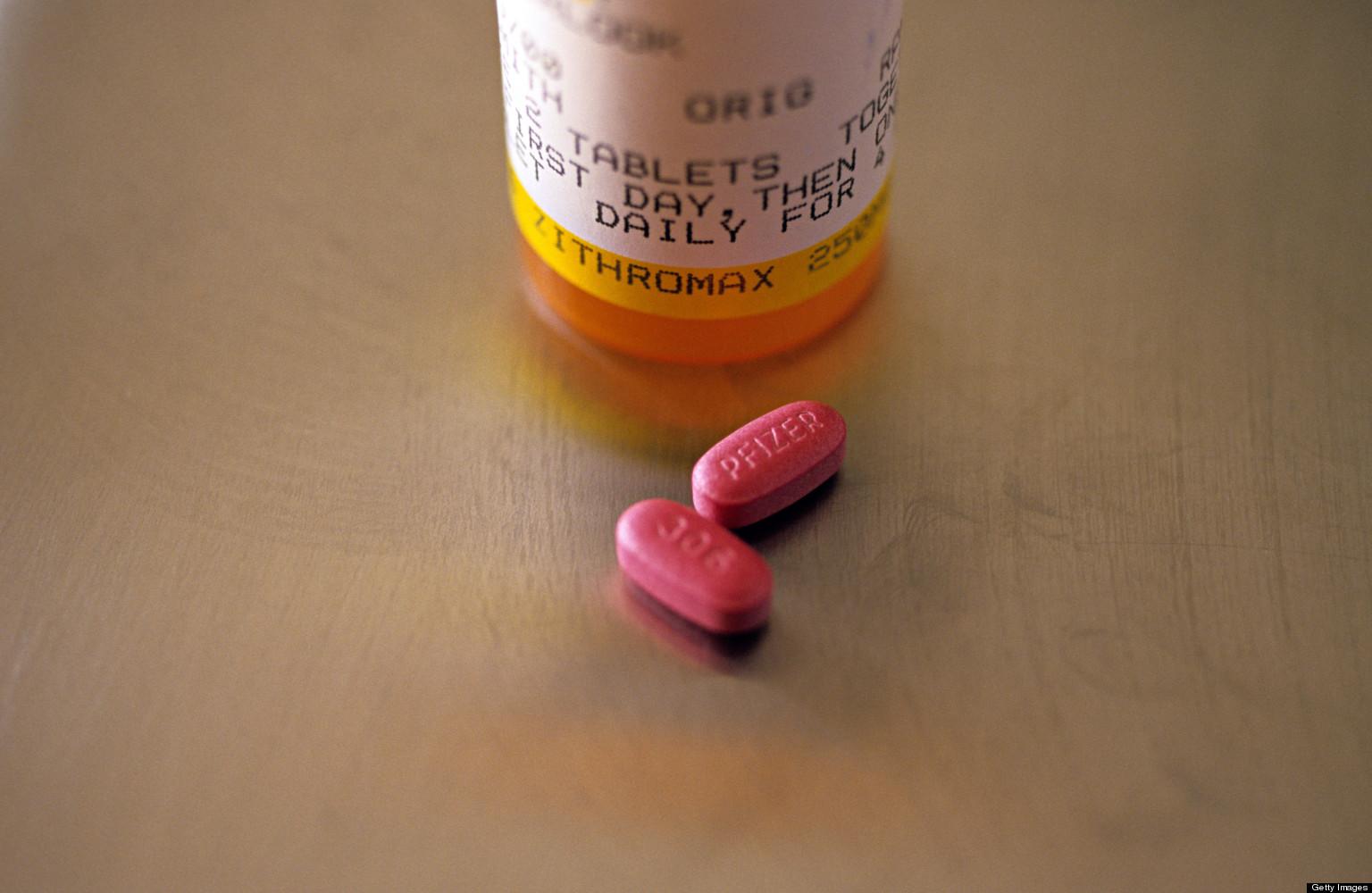 Testrong 1000mg azithromycin