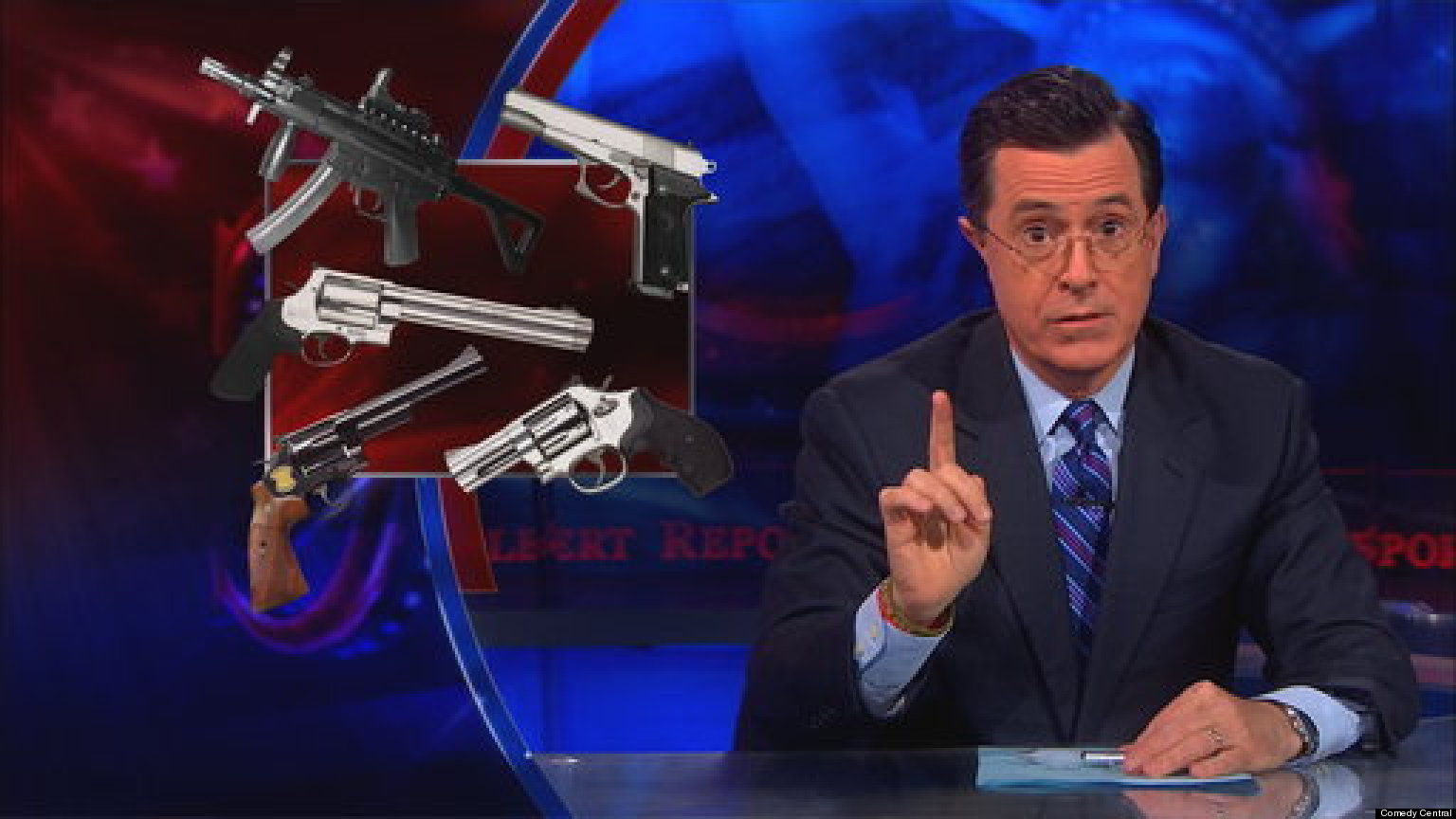 colbert destroys nra rightwing radio hosts over