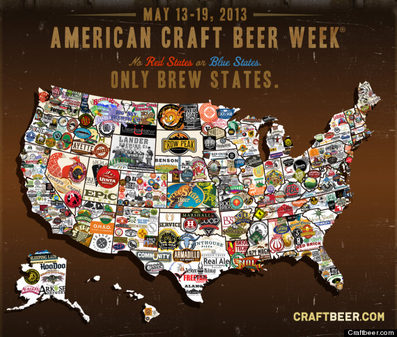 craft beer map shows love of brew across the u s photo